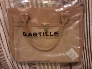 Image Is Loading Handbag Ted Lapidus Bastille Small Bag Beige Tan