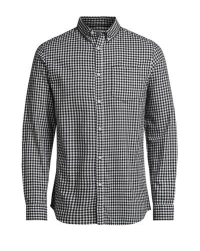 JACK /& JONES James Long Sleeve Shirt New Mens Slim Fit Check Smart Shirts