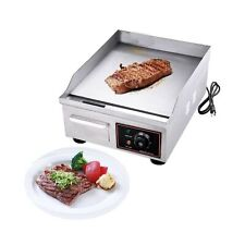 Proshopping 1500w 14 Commercial Electric Countertop Griddle Grill Stainless