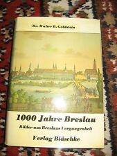 1000 Jahre Breslau Dr. Walter B. Goldstein 1974 Schlesien Ostgebiete
