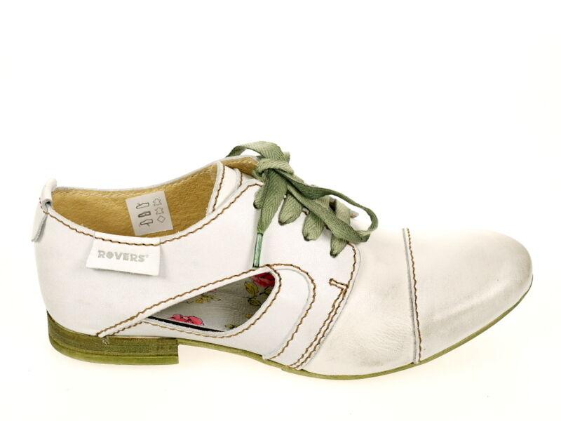 Rovers Schuhe Halbschuh 38004 Gr. 41 weiß Original Schuhe  Neu OVP TOP Fußbett