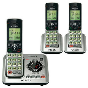 VTech-CS6629-3-DECT-6-0-Expandable-Cordless-Phone-with-Answering-System
