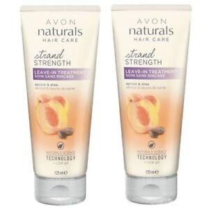 2-x-Avon-Naturals-Golden-Apricot-amp-Shea-Leave-in-Treatment-125ml-3-49-per-tube