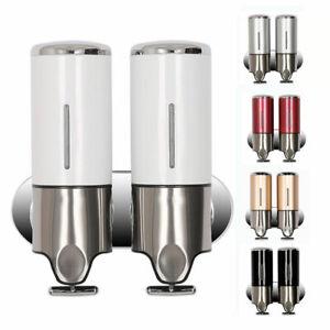 5 Farben-Luxus Wandmontage Seifenspender Shampoo Spender Seife Soap Dispenser