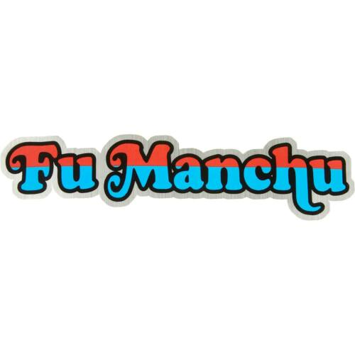 Fu Manchu Sticker