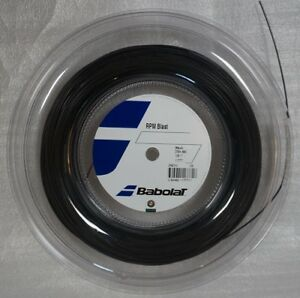 Babolat RPM Blast 17G 1.25mm black 660ft 200m Reel Tennis String