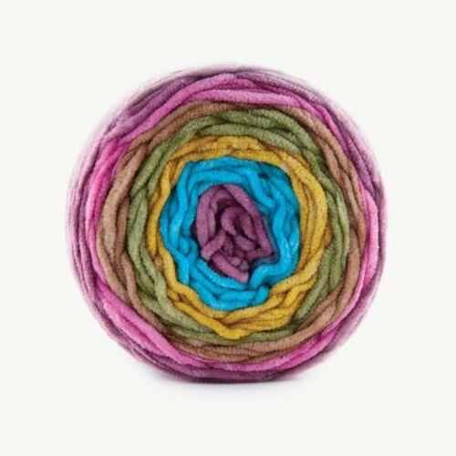 Super Grueso Manta Chenille Terciopelo Hilo de Lana Acrílico Pastel 08 Tejer Crochet