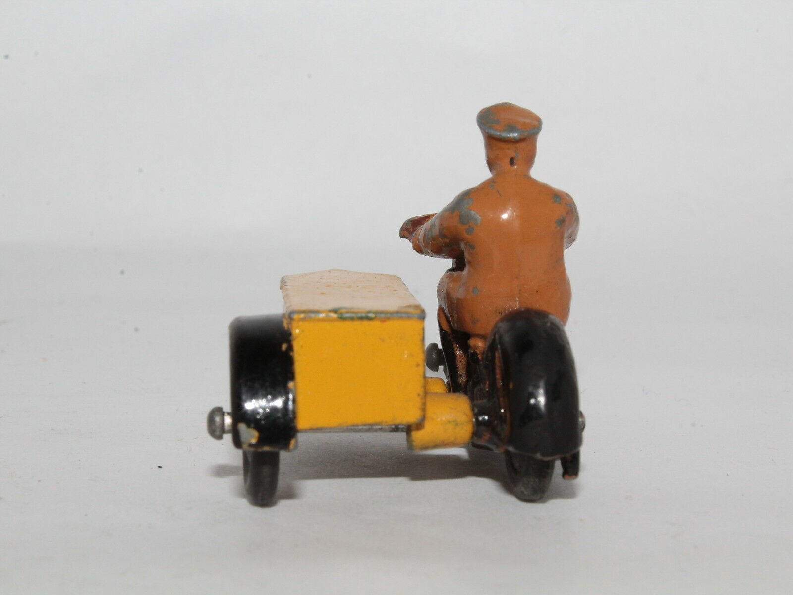 DINKY TOYS No. 44B 44 B MOTORCYCLE MOTORCYCLE MOTORCYCLE WITH SIDECAR PATROL - MECCANO LTD. [OS3-16] 04dcd4