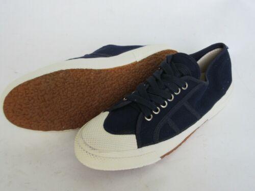 ITAL bordo Scarpe Army SNEAKER CANVAS NAVY BLUE Lino Scarpe da Ginnastica Sneakers Taglia 50
