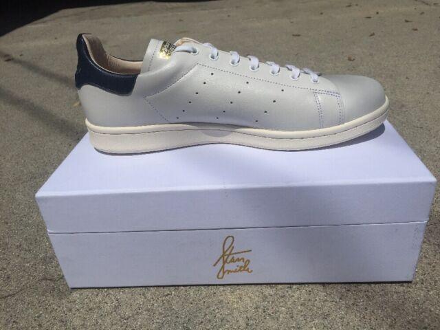 reputable site f6714 8382c Adidas Originals Stan Smith Recon White College Navy Men Shoes [CQ3033]  Size 10