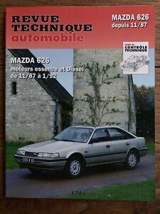 Revue-Technique-MAZDA-626-moteurs-diesel-et-essence-de-1987-a-1992-RTA