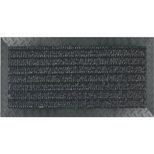 3PK Grass Worx Black 18 In. x 34 In. Astro Turf Garage Door Rug Carpet Floor Mat