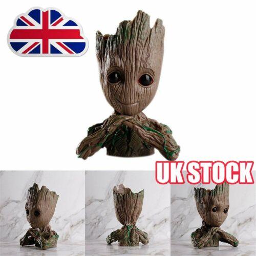 Guardians of The Galaxy Vol 2 Baby Groot Action Figure Flowerpot Pen Pot Toy AK