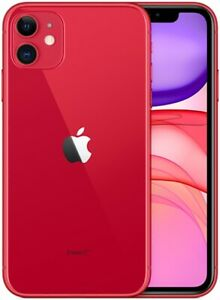 Apple-IPHONE-11-128GB-Italia-Rouge-LTE-Neuf-Original-Smartphone-Ios