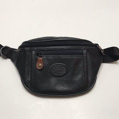 Red Black Taurus Sport Waist Bag Fanny Pack Adjustable For Run