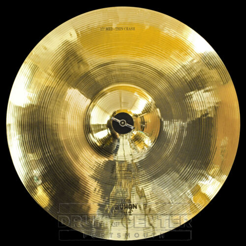 "Wuhan Medium Thin Crash Cymbal 17/"" Video Demo"