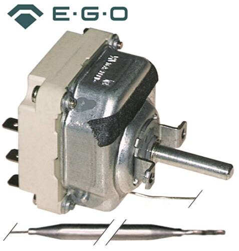 EGO 55.34032.030 55.34032.210 Thermostat max Temperatur 200°C 3x77mm 3x23mm