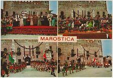 MAROSTICA - VEDUTINE - SCACCHI IN COSTUME (VICENZA)