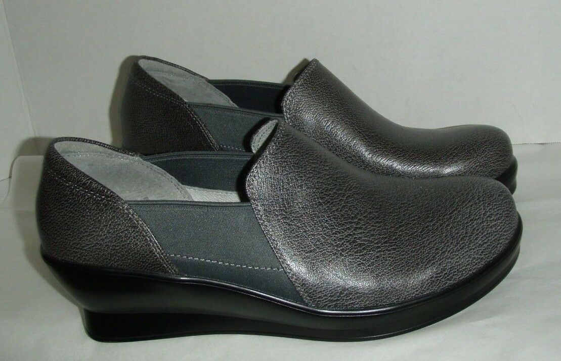 Alegria Wedge, Damenschuhe FRA-883  Wedge, Alegria gray Leder, 9.5 U.S. 8fb682