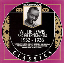 1932-1936 * by Willie Lewis-CLASSICS CD NEW