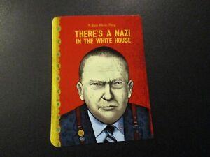"ZOLTRON Art Sticker 2.75/"" Donald Trump NAZI IN THE WHITE HOUSE art poster print"