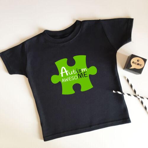 Autismo è impressionante PUZZLE MAXI T SHIRT Supersoft sensoriale