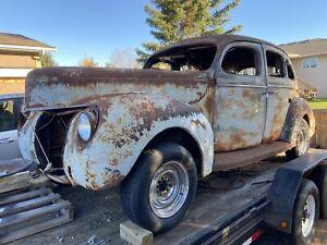 1940 Ford Four Door Sedan Project