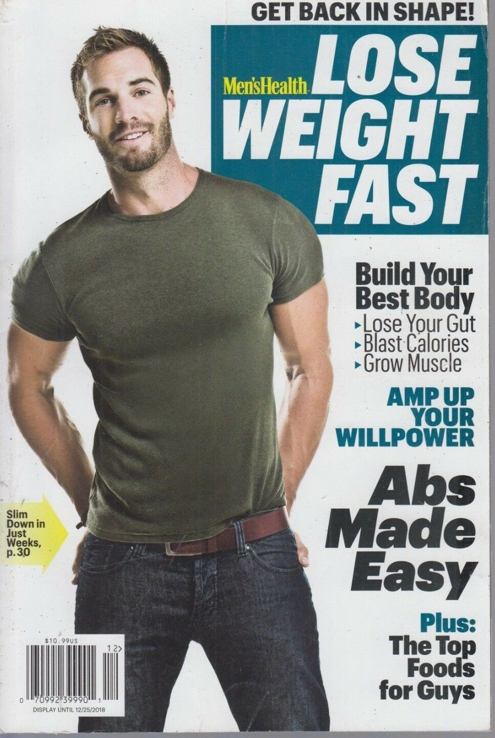 Men's Health Lose Weight Fast 2018 Get Back in Shape! 2