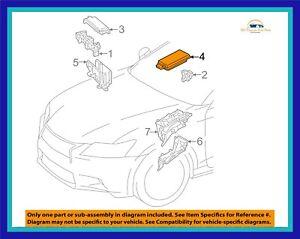 New Genuine OEM 2013 Lexus GS350 Engine Compartment Fuse Relay Box Upper  Cover | eBayeBay