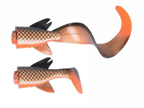 2pcs. Savage Gear 3D Hybrid Pike Spare Tails 17cm and 25cm