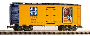 Piko 38878 Santa Fe el jefe de acero hierba Trenes Escala G