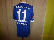 FC Schalke 04 Adidas Formotion Matchworn Trikot 2012/13 + Nr.11 Baumjohann Gr.L