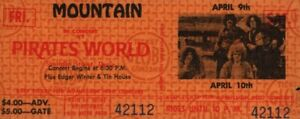 MOUNTAIN-1971-FLOWERS-OF-EVIL-TOUR-UNUSED-PIRATES-WORLD-CONCERT-TICKET-VG-2-NM