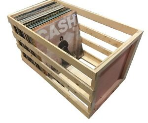 Image Is Loading 24 Inch Vinyl Record Storage Crate Album LP