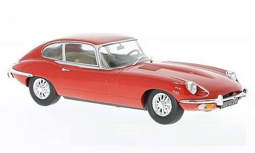 Whitebox WBX124022 - 1 24 SCALE JAGUAR E-TYPE RED 1962 RESIN MODEL