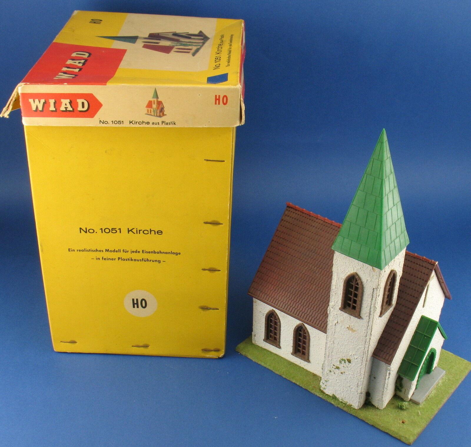Modelo WIAD 1051 - Kielce - Iglesia - Holtz - fatigmore - ovp - h0 Bassac