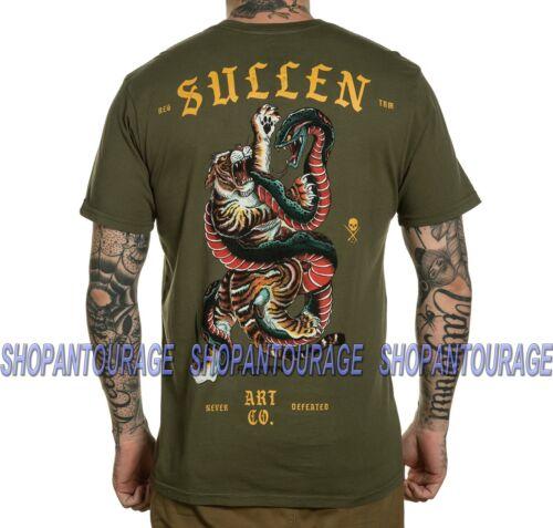 Sullen Ackermann SCM2779 New S//S Graphic Tattoo Skull Graphic T-shirt For Men