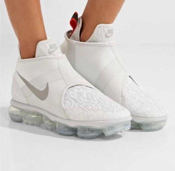 d0c6bd3401 Nike Air Vapormax Chukka Slip White Size 7.5 UK Genuine Authentic Mens  Trainers