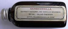 50 ML D'EXTRAIT NATUREL DE VANILLE DE MADAGASCAR