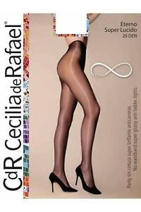 cbd57c54b70 Cecilia De Rafael Super Lucido Eterno 20 Denier Tights High Gloss ...