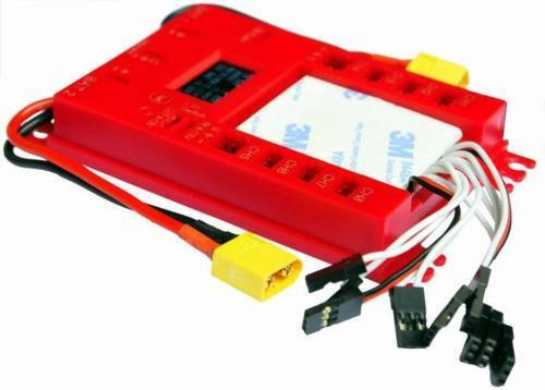Rccskj Mini Power DP Pro 4.8-9.7V Servo Section Board w  Dual Power Input Wire