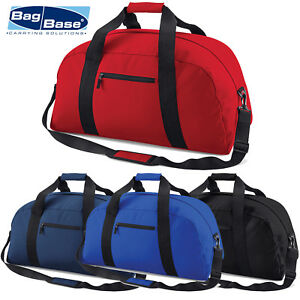 9582c074de5f Image is loading BagBase-Classic-Travel-Holdall-Holiday-Duffle-Sports-Team-
