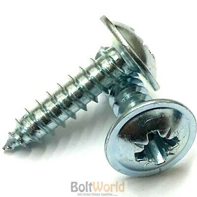 600 x N.4 A4 Posi Pan Head Self Tapping Screws Box Of Assorted Screws