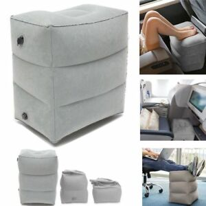 Inflatable-Foot-Rest-Travel-Air-Pillow-Portable-Cushion-Home-Leg-Footrest-Relax