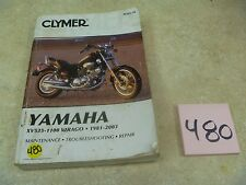 Yamaha Virago XV 535 700 750 920 1000 1100 Used CLYMER Service Manual #VP-MAN480