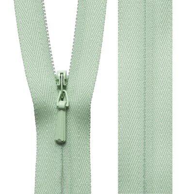 20cm23cm41cm56cm Cream YKK Concealed Zip Invisible Zip Closed End