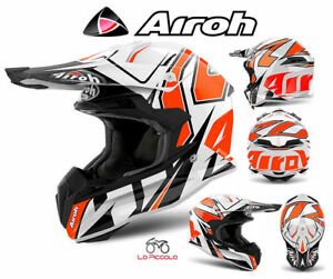 TOVSH32-Casque-Terminator-Open-Vision-Off-Road-Airoh-Choc-Orange-Poli-MIS-S