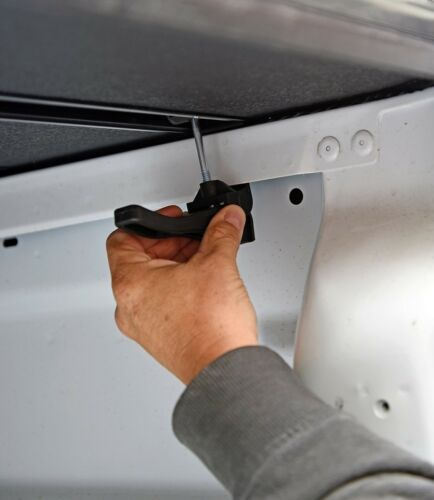NAVARA np300 pickup superfici di caricamento copertura Solid toneau cover copertura vano di carico