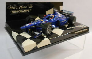 Minichamps-F1-1-43-Scale-430-990089-PROST-GRAND-PRIX-039-99-SHOWCAR-J-TRULLI