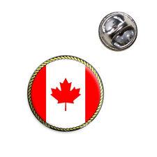 Flag of Canada Lapel Hat Tie Pin Tack
